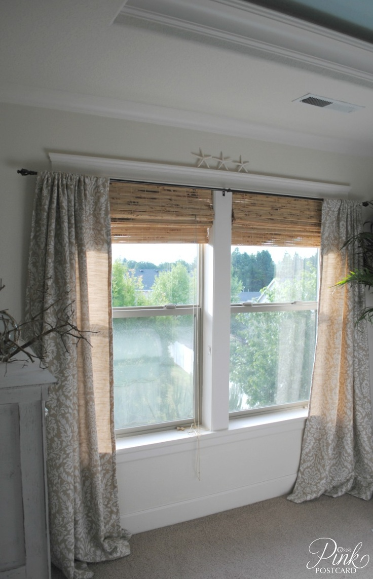 Outdoor curtain rods wholesale los angeles - Don T Love The Style Here But Shows Inside Mounted Shades And Over