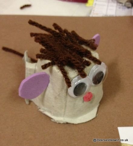 Mouse gruffalo craft
