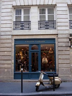 Christian Loubutin store in Paris