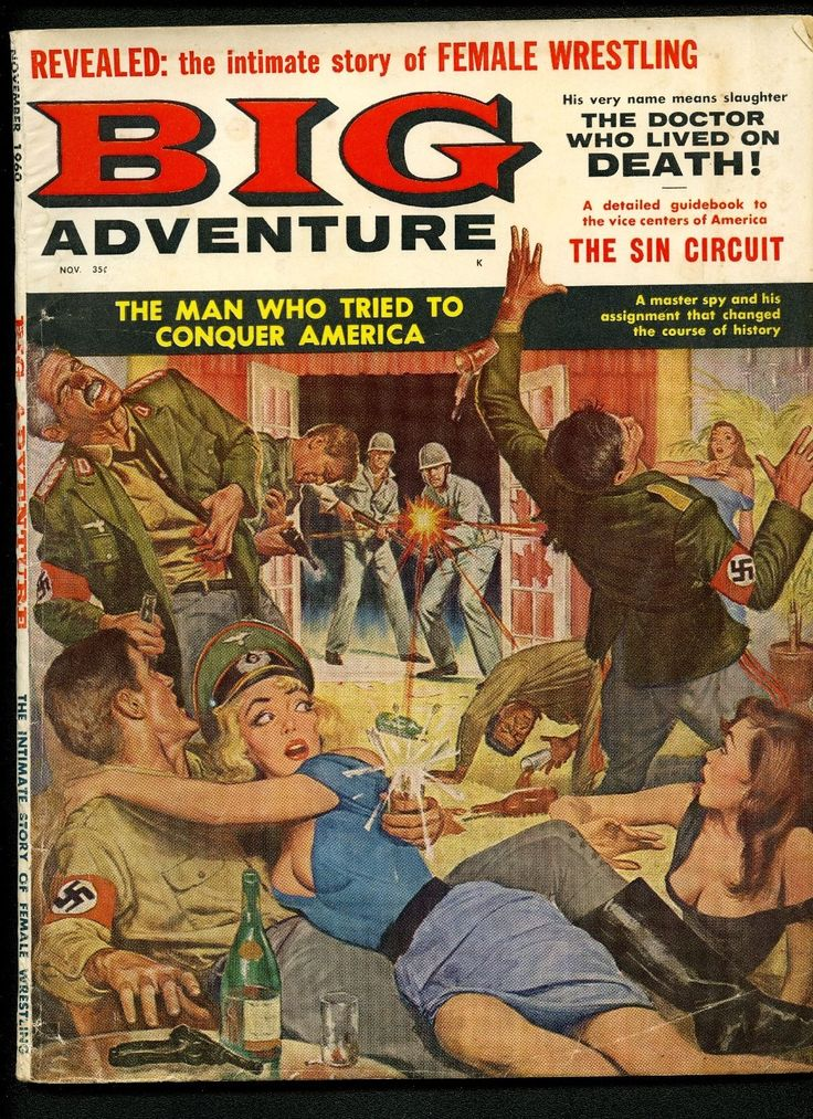 Americans raid Nazi Sex Party. Nazi Sadists. Cover Depicts. Ending Sun, March 19th. Big Adventure. March 16th is honored every year by. and are typically ~ 60 pp. and inside pgs clean.   eBay!