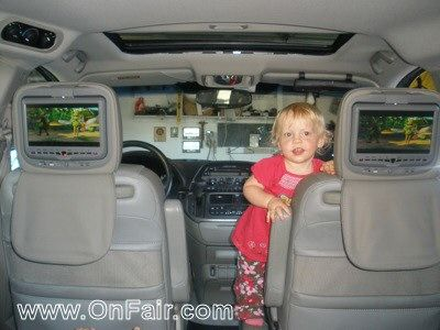 OnFair Car Headrest DVD Customer Review Testimonial - 2007 Honda Odyssey.  #headrestdvdplayer #family  http://www.onfair.com/onfair-car-headrest-dvd-player-review-in-a-2007-honda-odyssey/