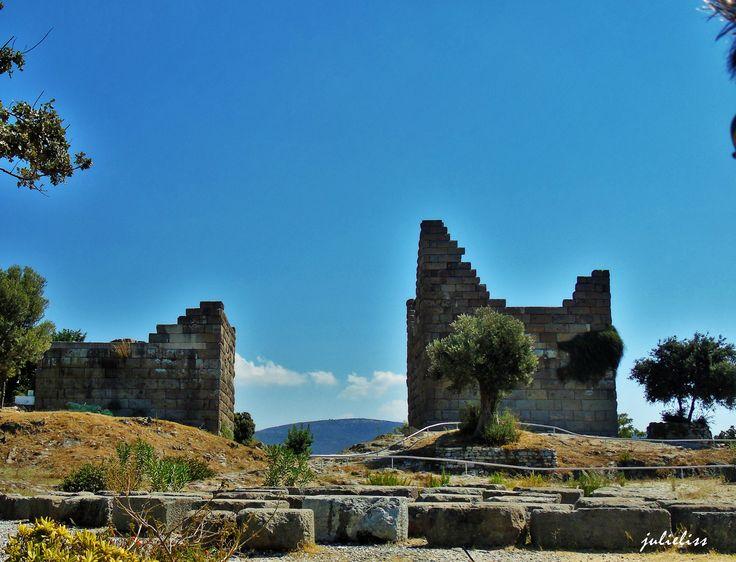 The enter of old city Halicarnassus...