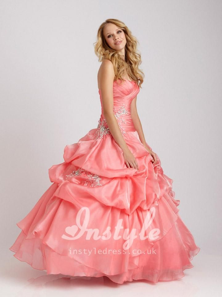strapless sparkling sky blue quinceanera dress with layered ruffles skirt