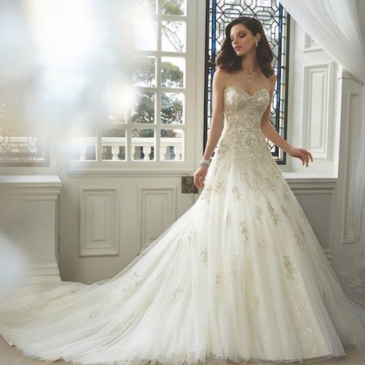 Cheap beaded bridal gown, Buy Quality bridal gown directly from China vestido de noiva Suppliers: 2016 Long White Lace empire Weding Dresses Applique Beads High Neck Bridal Gowns Sleeveless Zipper Back Organza Wedding