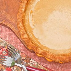 Maple custard pie...real maple syrup, real maple flavor