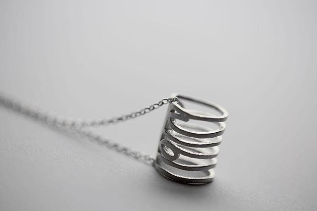 The elegant 'Roll Pendant' on a silver chain. This features the numbers 1916, available online from January 18th on www.terriblebeauty.ie #silver #necklace #jewellery #elegant #design #detail #1916 #commemoration #fashion #statement #fashionstyle #style #pride #ireland #irish #craft #centenary #easterrising #eyecatching #irishfashion #chain #fashionblogger #blog #true #trend #new #1916rising