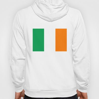 National flag of the Republic of Ireland - Authentic 3:5 Version Hoody