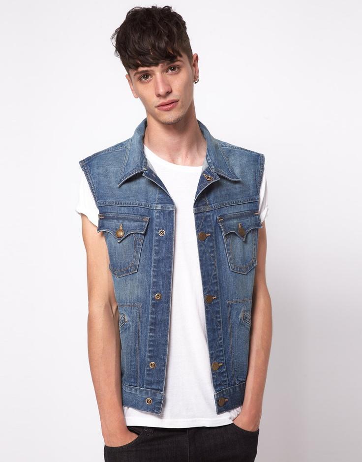 Gilet di jeans - ASOS