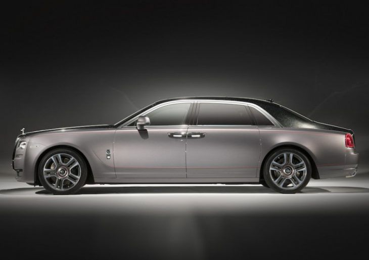 Rolls-Royce Crushed 1,000 Diamonds to Give this Custom Ghost a Super Luxe Paint Job