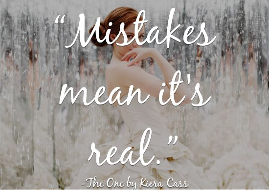 quotes about life from 2014 ya books the one kiera cass | www.readbreatherelax.com