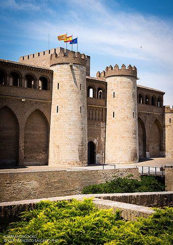 Palacio de la Aljafería Aragón Spain