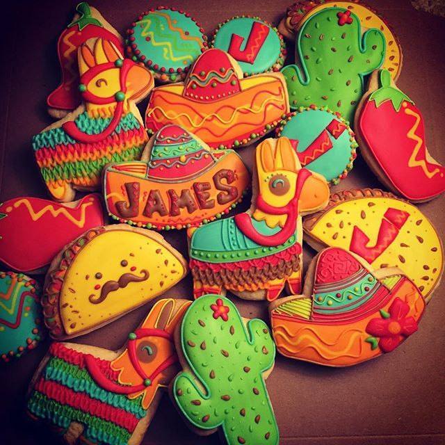 17 Best Ideas About Sombrero Cookies On Pinterest