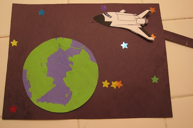 space shuttle craft ideas - photo #23