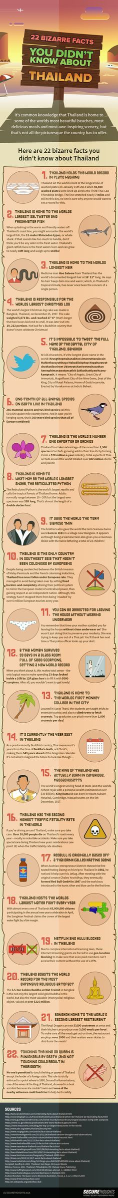 Bizarre Facts You Didn't Know About Thailand