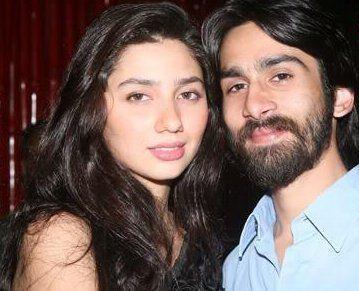 Ali Askari and Mahira Khan