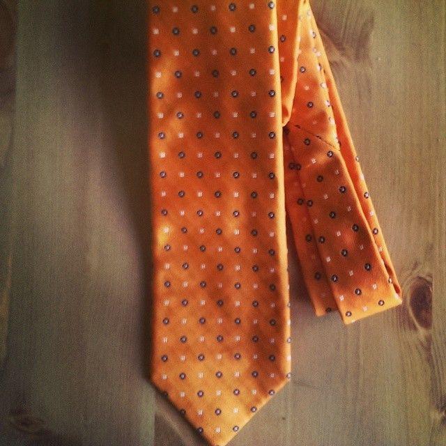 Orange Ellsemere #sevenfoldtie get yours at www.pheobesdee.com #style #suits #menswear #mensstyle #mensfashion