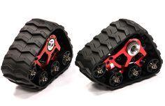 Snowmobile & Sandmobile Conversion for 1/16 Traxxas E-Revo, Slash, Summit, Rally for R/C or RC - Team Integy
