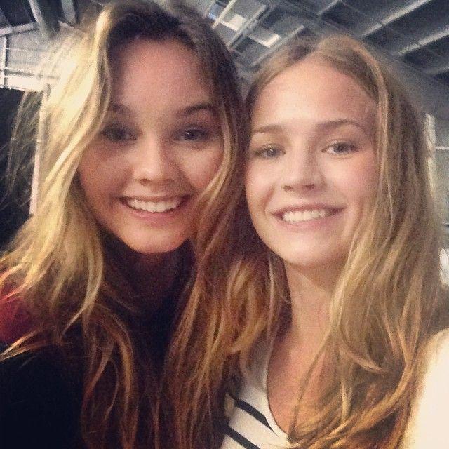 Liana Liberato and Britt Robertson