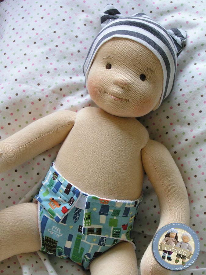 Szmaciany niemowlaczek | Lalinda