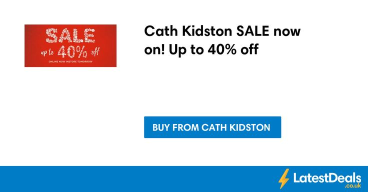 Cath Kidston SALE now on! Up to 40% off