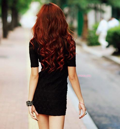 hi hairr.: Hairstyles, Red Hair, Hair Styles, Haircolor, Makeup, Redhead, Redhair, Hair Color