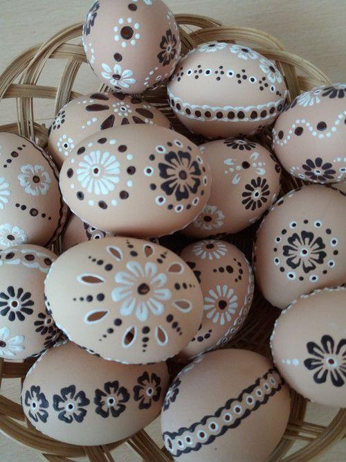 velikonoční krajka s vůní čokolády