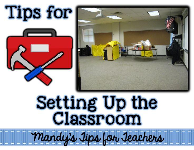 classroom setup tool