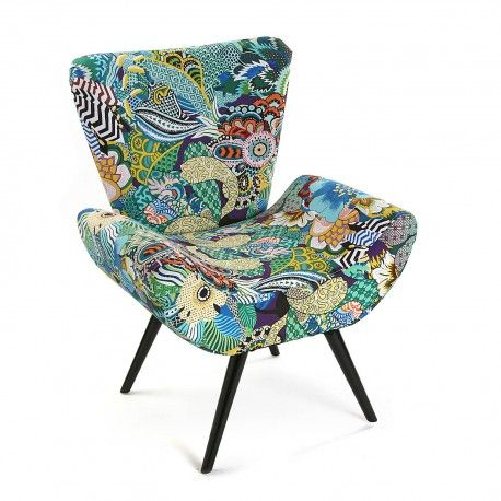ARMOIRE TROPICAL PATCHWORK