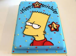 simpsons birthday cake - Google-søk