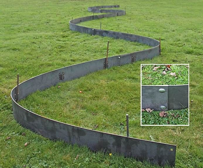 metal lawn edging cover - Best 25+ Metal Lawn Edging Ideas On Pinterest Metal Landscape