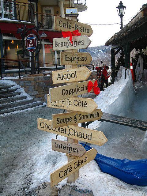 Mont- Tremblant Ski Resort: part of our #IntrawestPassport Family! www.intrawestpassport.com
