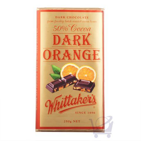 Dark Orange Chocolate – Whitakers 250g | Shop New Zealand