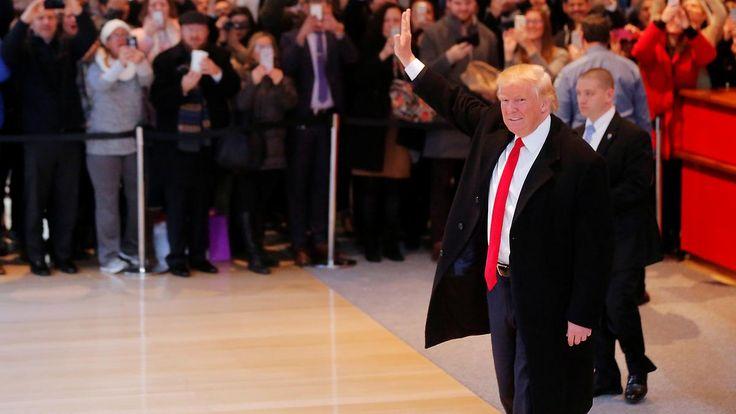 """Absage an Folter, """"offen"""" bei Klima: Trump leitet 180-Grad-Wende ein"""