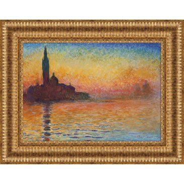 Check out this item at One Kings Lane! Monet, San Giorgio Maggiore at Dusk 1908