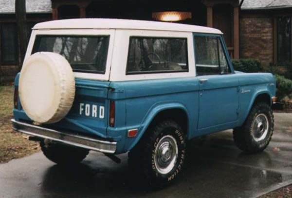 Curt's 1969 Ford Bronco