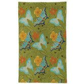 Found it at Wayfair.co.uk - Traditional Butterfly Green Novelty Rug