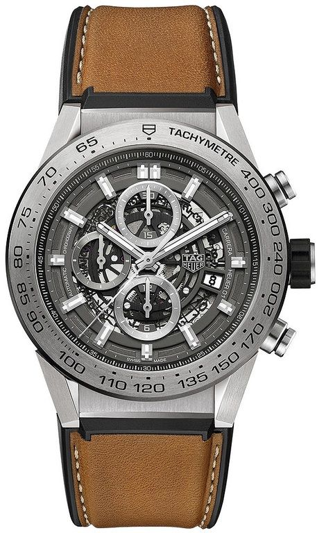 Tag Heuer car2a8a.ft6072 Carrera Caliber Heuer 01 Skeleton 45mm. #tagheuer