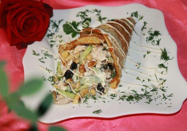 Салат «Рог изобилия». Только блюда с такими названиями должны быть на праздничном столе!!! - МирТесен