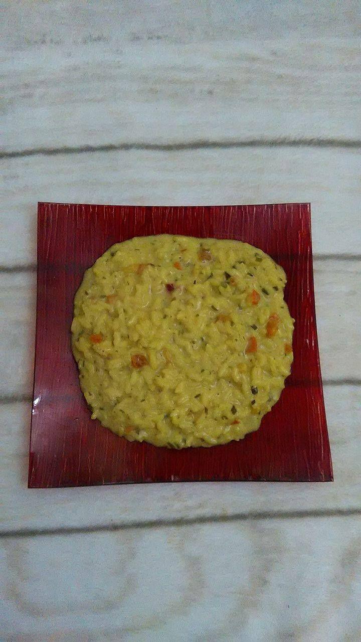 risotto ai gamberetti con curry e mascarpone
