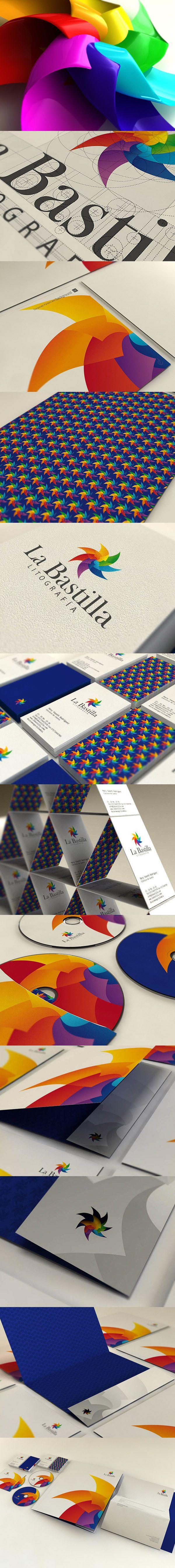 Logo and Identity La bastilla, branding, logo
