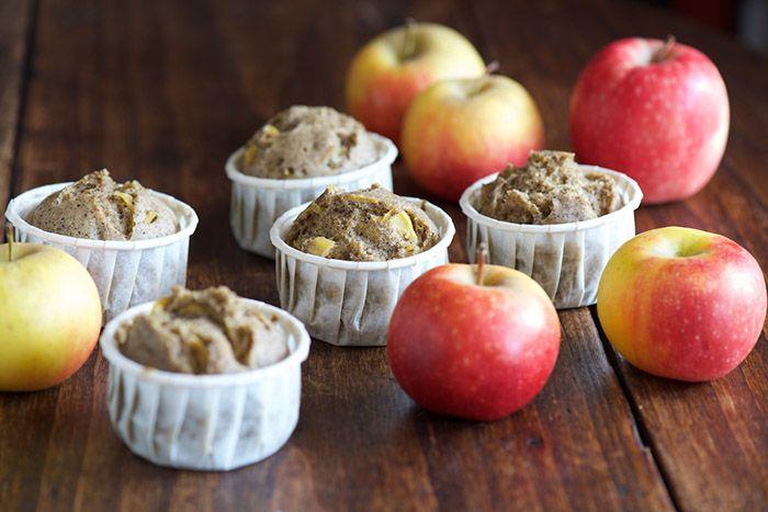 Muffins à la pomme et au sarrasin - Le Vitaliseur de Marion