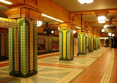 Wittenau subway station in Berlin