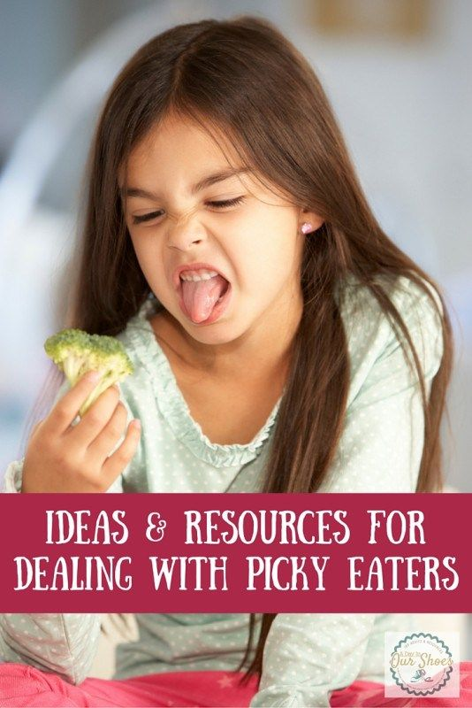 ideas and resources for dealing with picky eaters