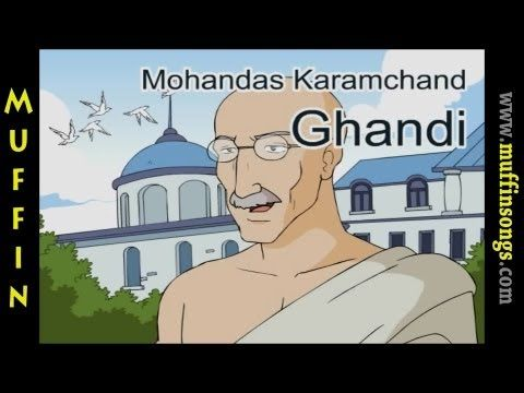▶ Muffin Stories - Mahatma Gandhi | Children's Tales, Stories and Fables - YouTube