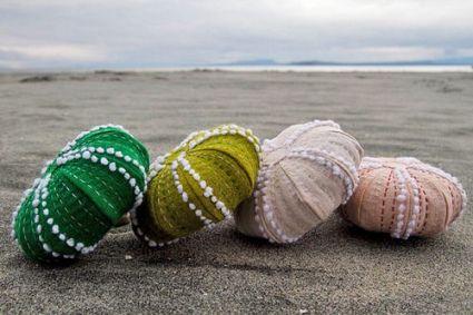 felt sea urchins
