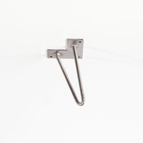 Pied de meuble 15 cm / Hairpin Legs par Lafabriquedespieds sur Etsy