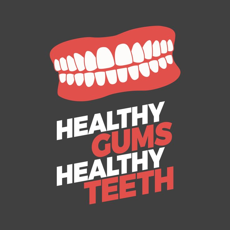 THE HEALTH OF YOUR TEETH is fundamentally linked to the health of your gums! Don't neglect either!
