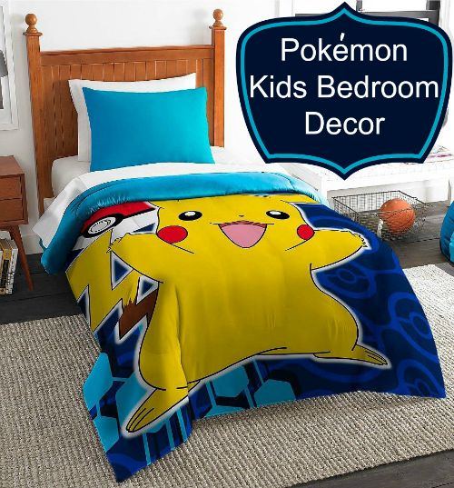 If your child loves to play the game Pokemon, they would probably love Pokemon bedroom decor. Click now and find the most awesome Pokémon décor ideas your child would get so excited over! >>http://www.addmorecolor-gift-ideas.com/2015/05/pokemon-bedding-kids.html