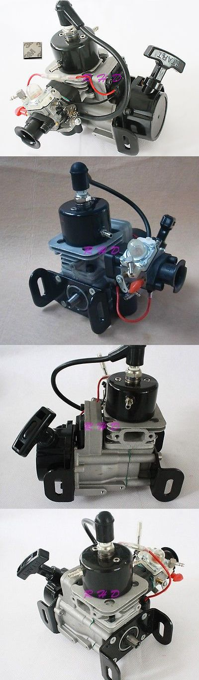 Gas Nitro Engines 182189: New 26Cc 2-Stroke Rc Petrol Marine Gas Pull Start Engine For Racing Boat 3M Tape -> BUY IT NOW ONLY: $142 on eBay!