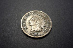 A 1908 Indian Head penny. photo by mr smashy on Flickr
